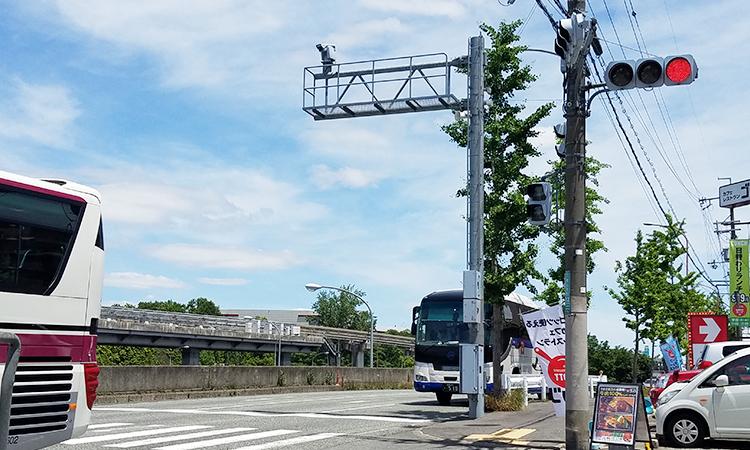 交通監視用テレビカメラ